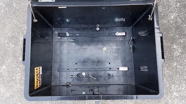 ホムセン箱 バイク用リアボックス