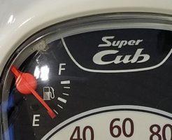 スーパーカブ110 JA44 燃料計